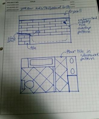 Bath Sketch 1