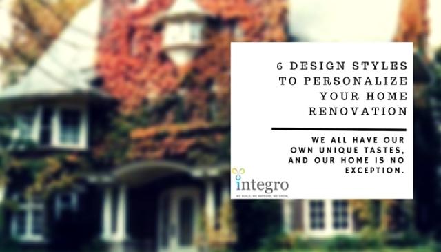 Integro - Blog - Renovation Styles