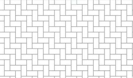 tile-pattern-herringbone-plan